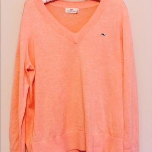 Vineyard Vines | Heritage Cotton V-Neck Sweater